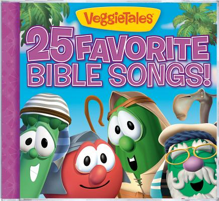 25 FAVORITE BIBLE SONGS BY VEGGIETALES (CD)